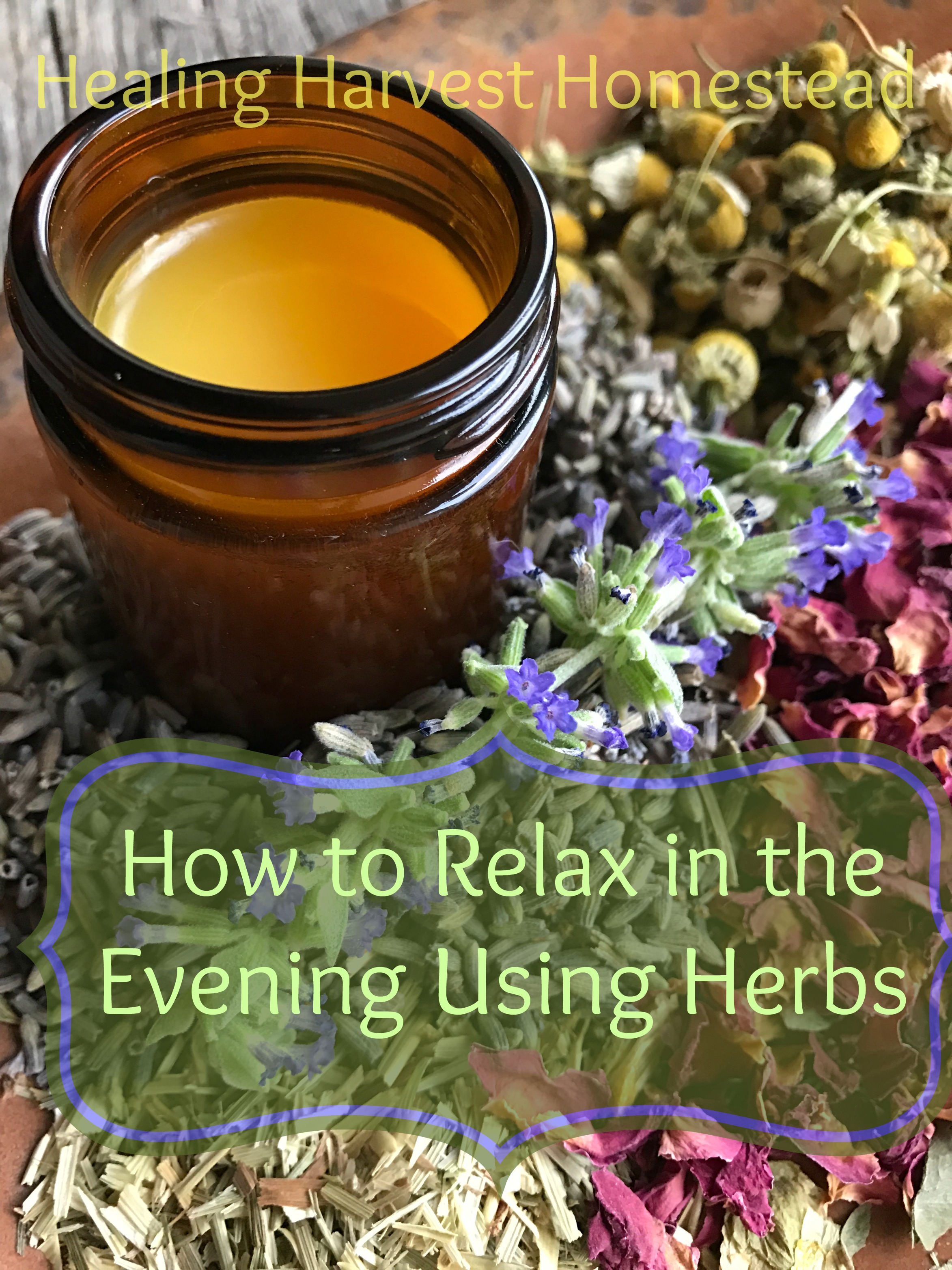 Herbs are probably the single most effective and healthy way to relax in the evening! Help your body deal with stress, anxiety, and just calm down before bedtime! You won't want to miss these safe, natural, herbal remedies!