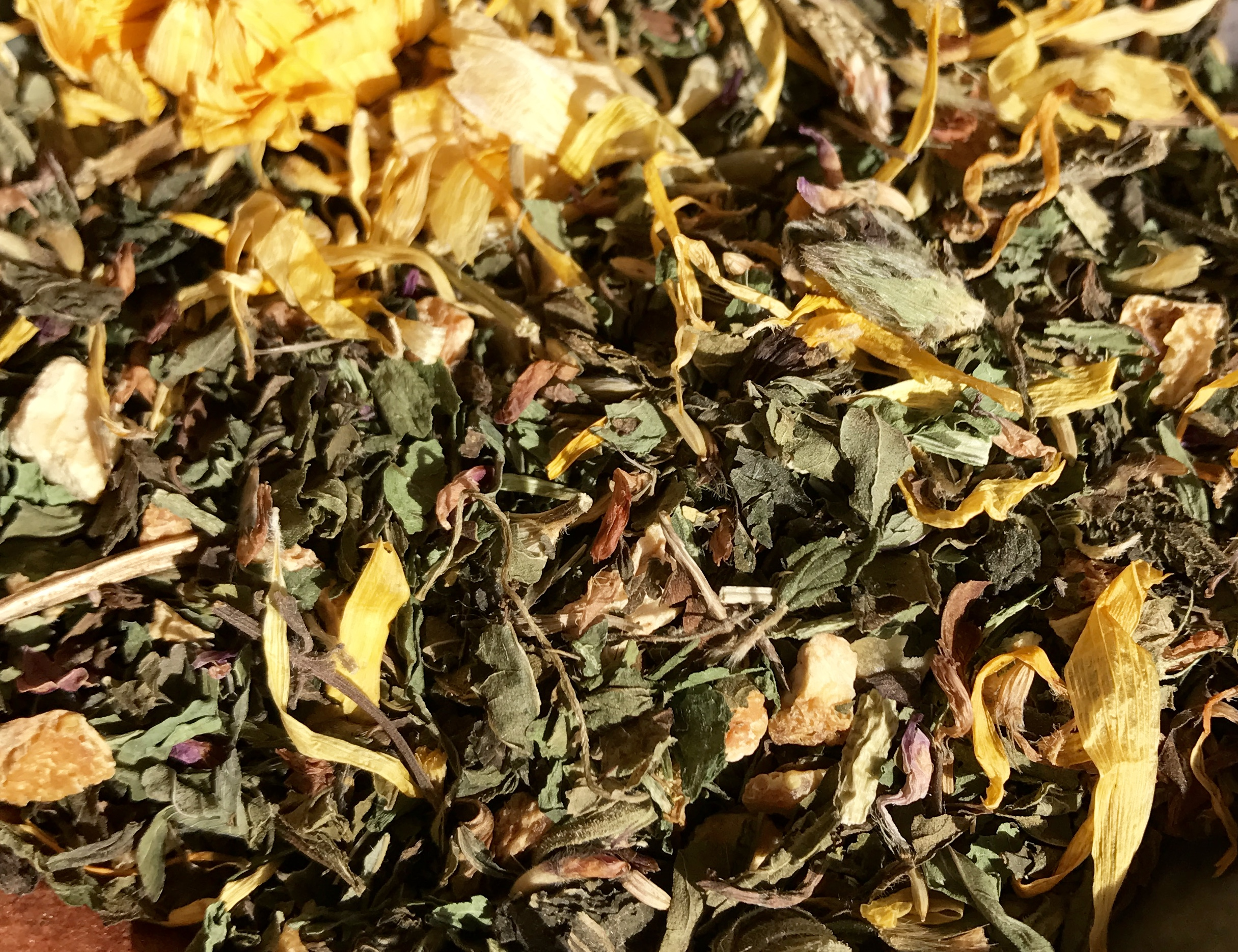 Herbal teas can be delicious, medicinal and absolutely beautiful at the same time!