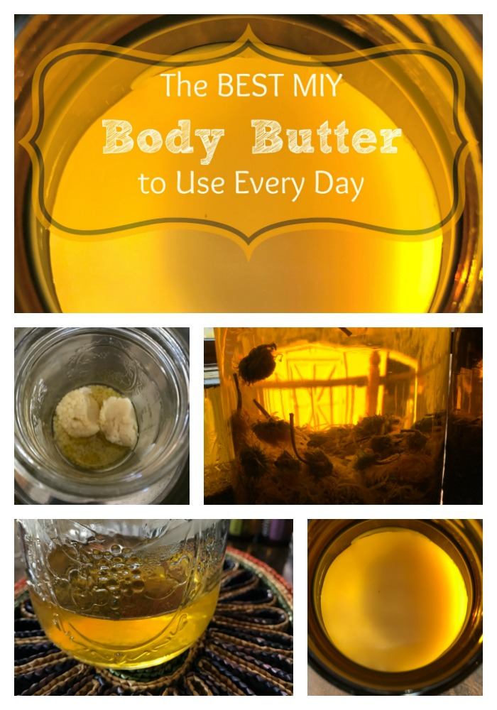 If you have dry skin and love the feel of body butters without the typical greasy feeling that often comes with them, then you MUST try this easy and effective body butter!