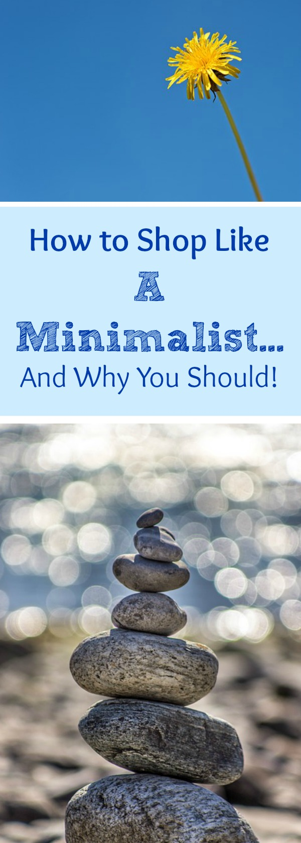 "How and Why to Shop Like a Minimalist!  So, with fear and trepidation (insert scary music), as I get ready to really go LOOK at the most cluttered place in our home (The Loft) and make a plan to actually follow through to declutter it and make it beautiful, I am sitting here thinking that  OBVIOUSLY, if I had been thinking like a Minimalist BEFORE I bought all that ""stuff,"" then I wouldn't be having to spend my time on this project now!"
