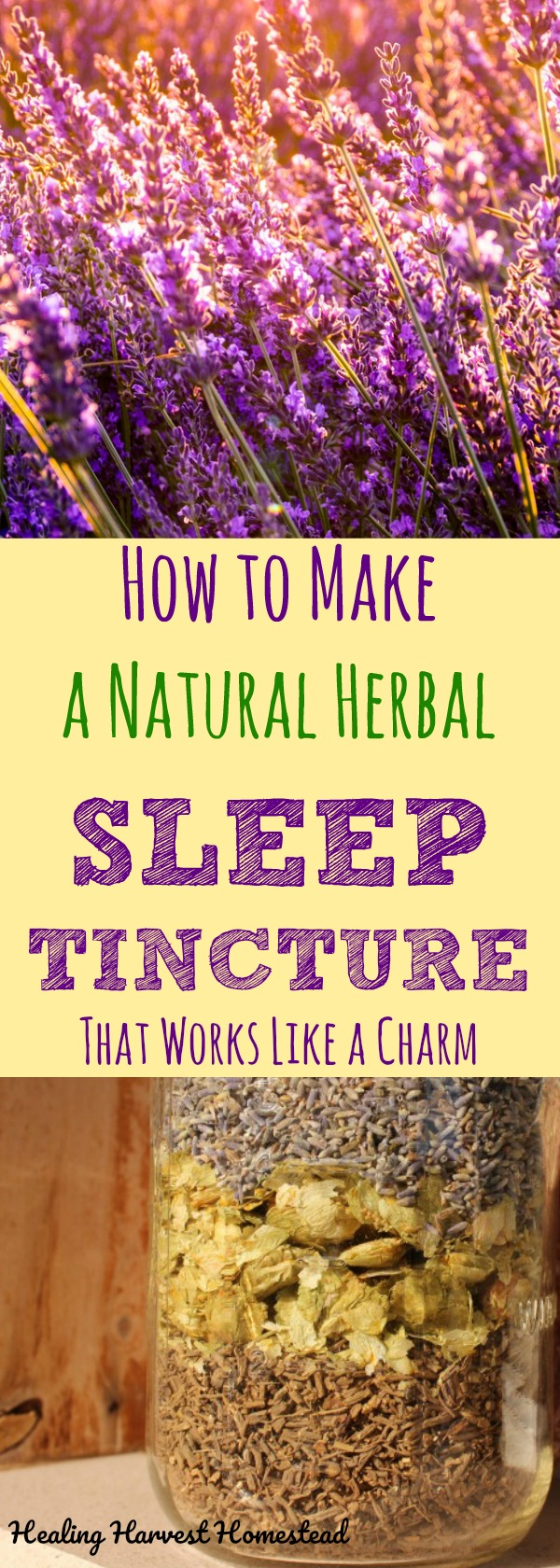 Getting a great night's sleep is difficult for many people these days. Here are scientifically studied herbs that can help you get that restful sleep you've dreamed of! This herbal remedy and recipe blend is easy to make, and best of all, it works! #sleep #beauty #cant #tips #herbsfor #essentialoilsfor #howto #goodnight #healingharvesthomestead #herbalremedy #herbalist #naturalremedy