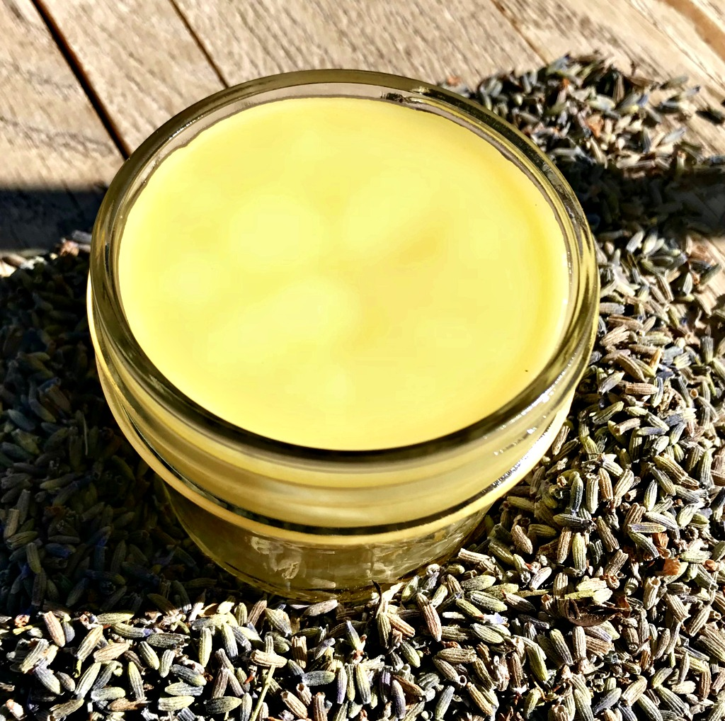 Lavender Salve smells beautiful and is great for your skin!