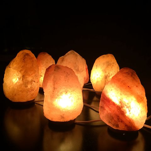 This one makes me so sad....As I love my Himalayan salt lamps. But they seem to have an impact, especially if they are on all day long.