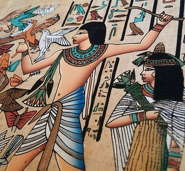 Common items for females to use during ancient times may have included soft papyrus, moss, and other natural things available.