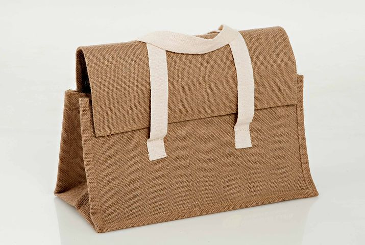 Burlap is a great fabric for making foraging bags. I usually use the ones you can buy for a dollar at the feed stores--not one as attractive as this. However, burlap allows the plants to breathe and not wilt as badly as other materials.  Here's a great burlap tote from Amazon !