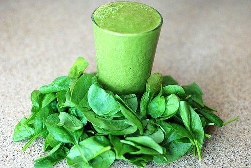 Eat your greens! Don't like veggies? Try a green smoothie every day.