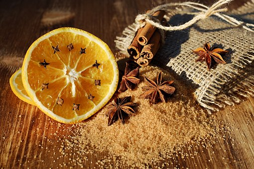 Mmmm....Orange, Clove, Anise and Cinnamon make for a great Citrus-Spice combination in your homemade soaps!