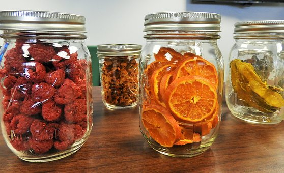 Dehydrated fruits and vegetables last a really long time! And it's SO easy to dehydrate your own food.