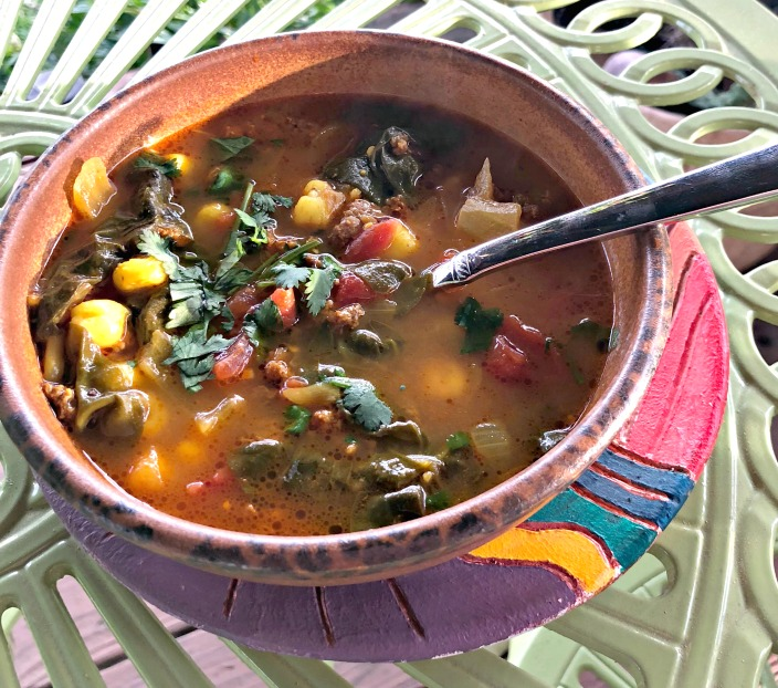 I just love a great-tasting, one-pot, immune-boosting soup any time of the year!