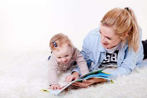 Good reading habits start young! But it's never too late!