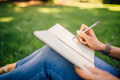 Journaling with your child is fun and healthy. Written communication is more difficult than verbal or reading---So get your child in the habit of writing his/her thoughts down, even a few moments a day.