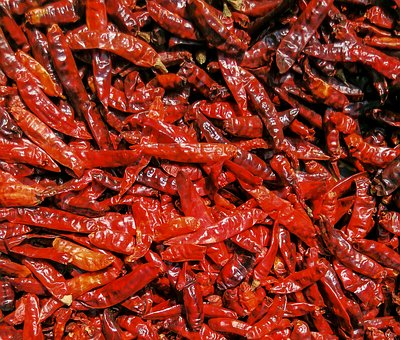 These are dried Cayenne peppers. Generally, they are used in powdered form for medicinal purposes.