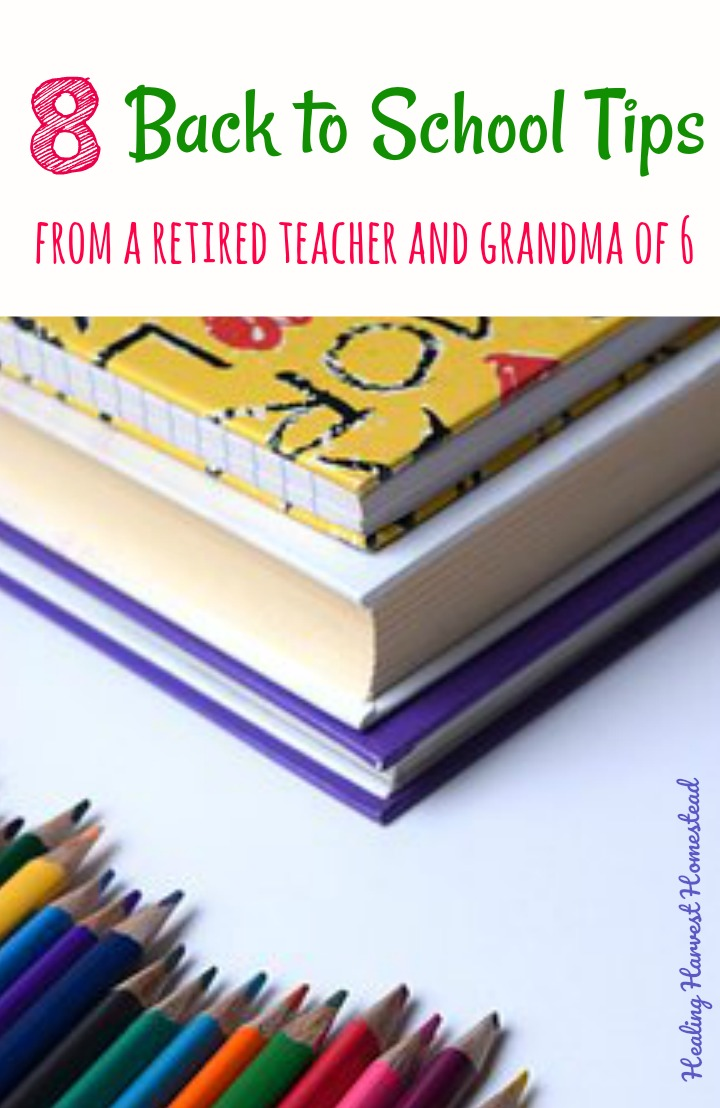 Want the BEST tips for getting your kids ready for the school year (and you too)? You can trust this retired veteran teacher, mom of 4, and grandma of 6! Get your child ready for the school year now, and you'll be happy you did! You'll love these back to school tips for organization and more! #backtoschool #tips #organization #academics #ready #getready #backtoschoolideas #clothes