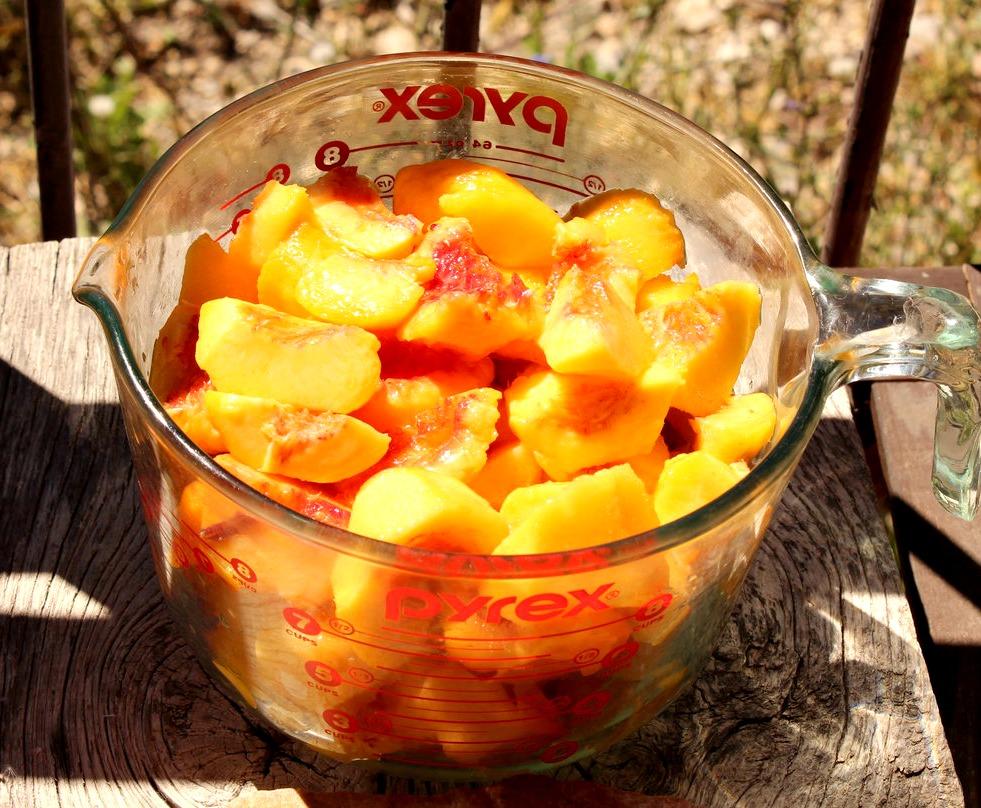 Aren't these peaches gorgeous?
