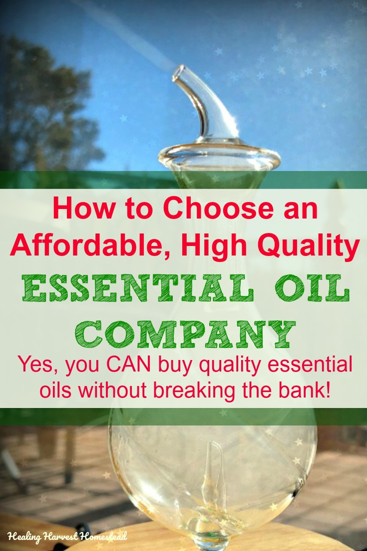 Are you tired of paying super high prices for essential oils? Are you tired of hearing there are only a couple of great essential oil companies out there? Well, I'm here to help give you some choices about where you can buy quality essential oils at a price that you can live with. These are criteria you can use, so you can vet any company to see if it fits your needs. #essentialoils #quality #price #lowprice #company #healingharvesthomestead
