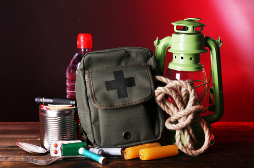 Preppers will have food storage and emergency supplies handy.