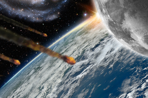 Asteroids hitting earth could have dire consequences if they are large enough.