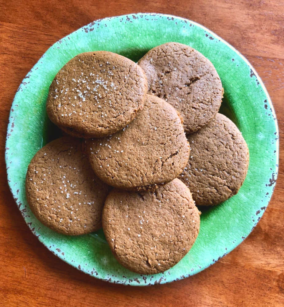 These are simply wonderful, healthy, and delicious cookies! The texture is perfect!