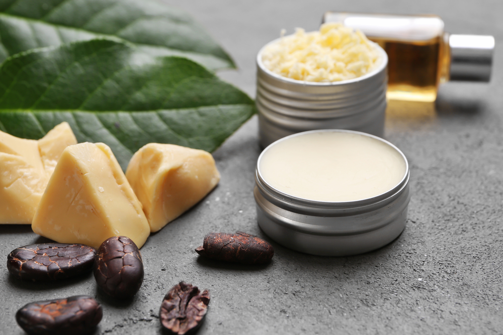 Cocoa butter is one of my favorite butters for making natural homemade body care products.