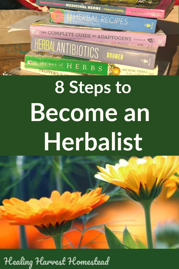 Want to learn herbalism? There is a science and an art to this wonderful, traditional world of natural healing and health. YOU can become part of this exciting world too. Find out how you can become an herbalist so you can make safe and effective home remedies for yourself and the love of your family. #herbalism #homeremedy #herbalist #howtobe #learnherbs #howto #plantmedicine #healingharvesthomestead
