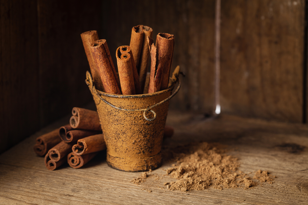 Cinnamon scents in the Fall are classic.