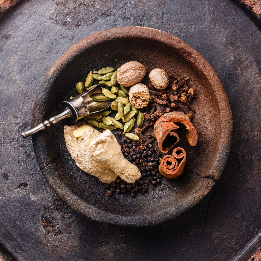 The  chai tea spices  are also all classics for Fall.