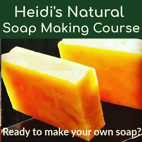 Click here to find out how you can make your own hot process soap too!