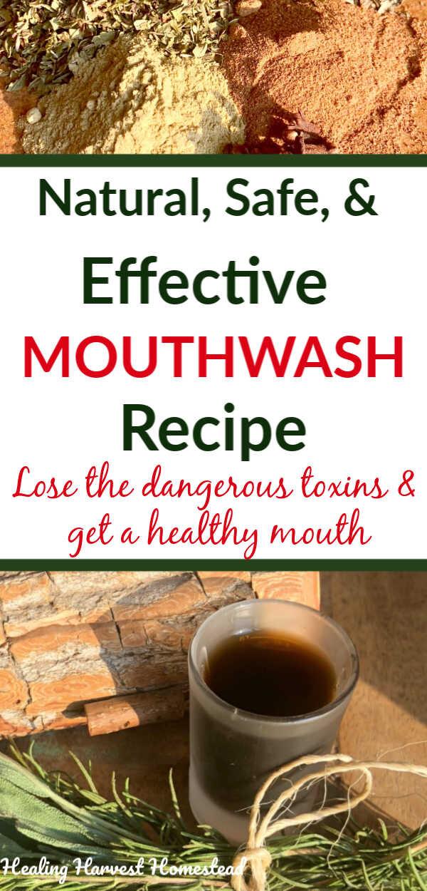Herbal Antibacterial Mouthwash Recipe