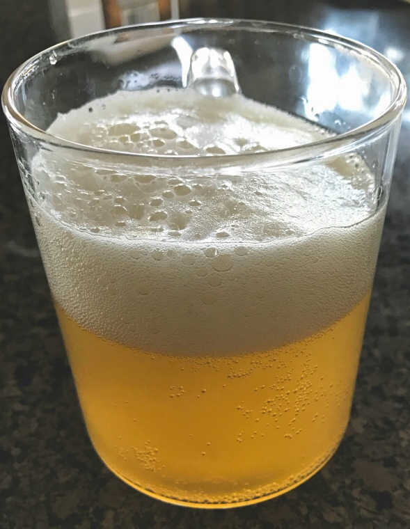 What a delicious, healthy homemade home brew! Fermentation: Love it!