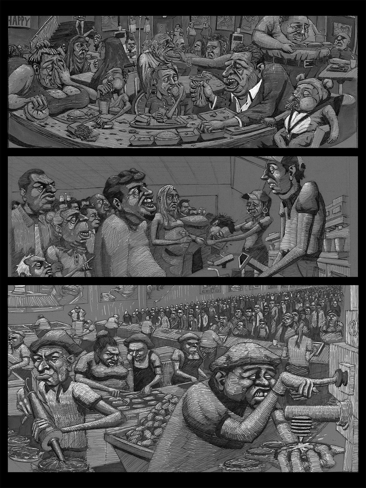 Feeding The Heard