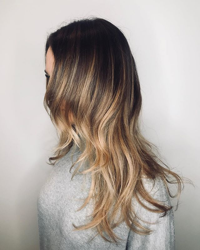 #haircut by Bruno @brunocutshair #haircolor Dianna @dianna_dnohair #lorealpro #bayareahairstylist #bestofmarin #marincounty #strawberryvillage #strawberryvillagemillvalley #longlayers #balayage