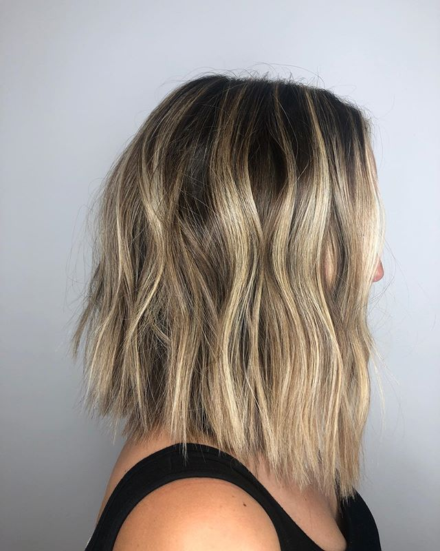 #haircut by Aley @aleychloehair #color by Devon #shoulderlengthhair #blondehair #blonde #balayage #bestofmarin #dnosalon #dnosalonmarin #strawberryvillagemillvalley #bayareahairstylist