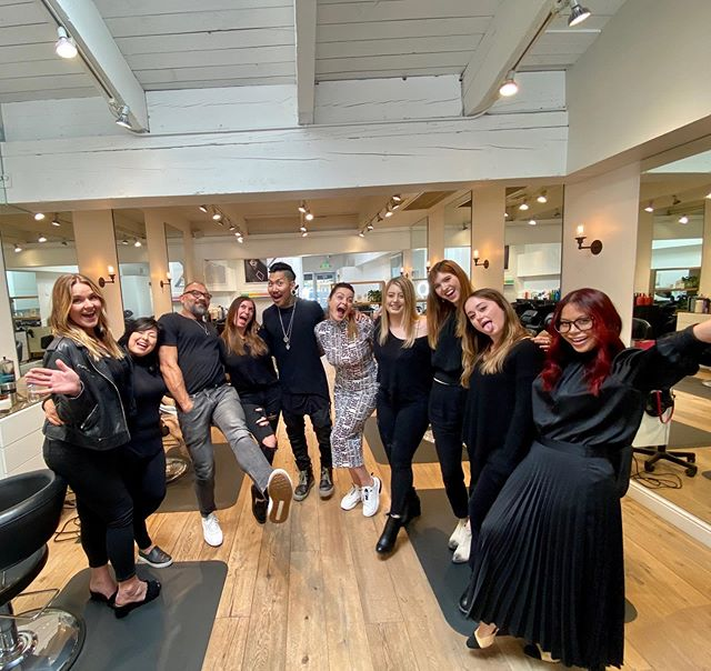 We had an amazing class taught today by the best @philipwolffhair thank you for sharing your time and knowledge. It was a very rewarding experience and we had so much fun! #continuingeducation #matrixeducation #lovewhatyoudo #sharingleadstosuccess