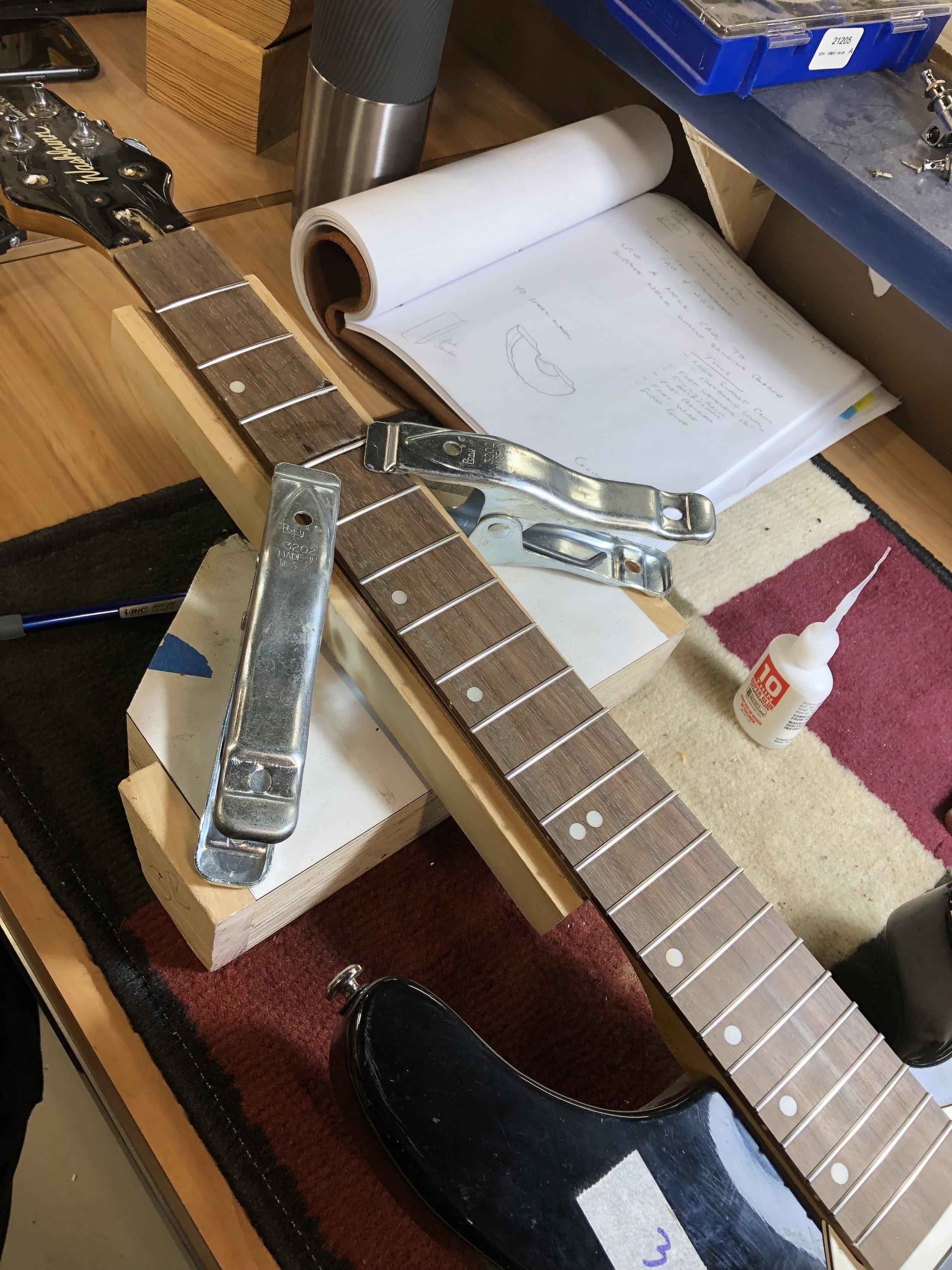 Guitar Repair Price List -