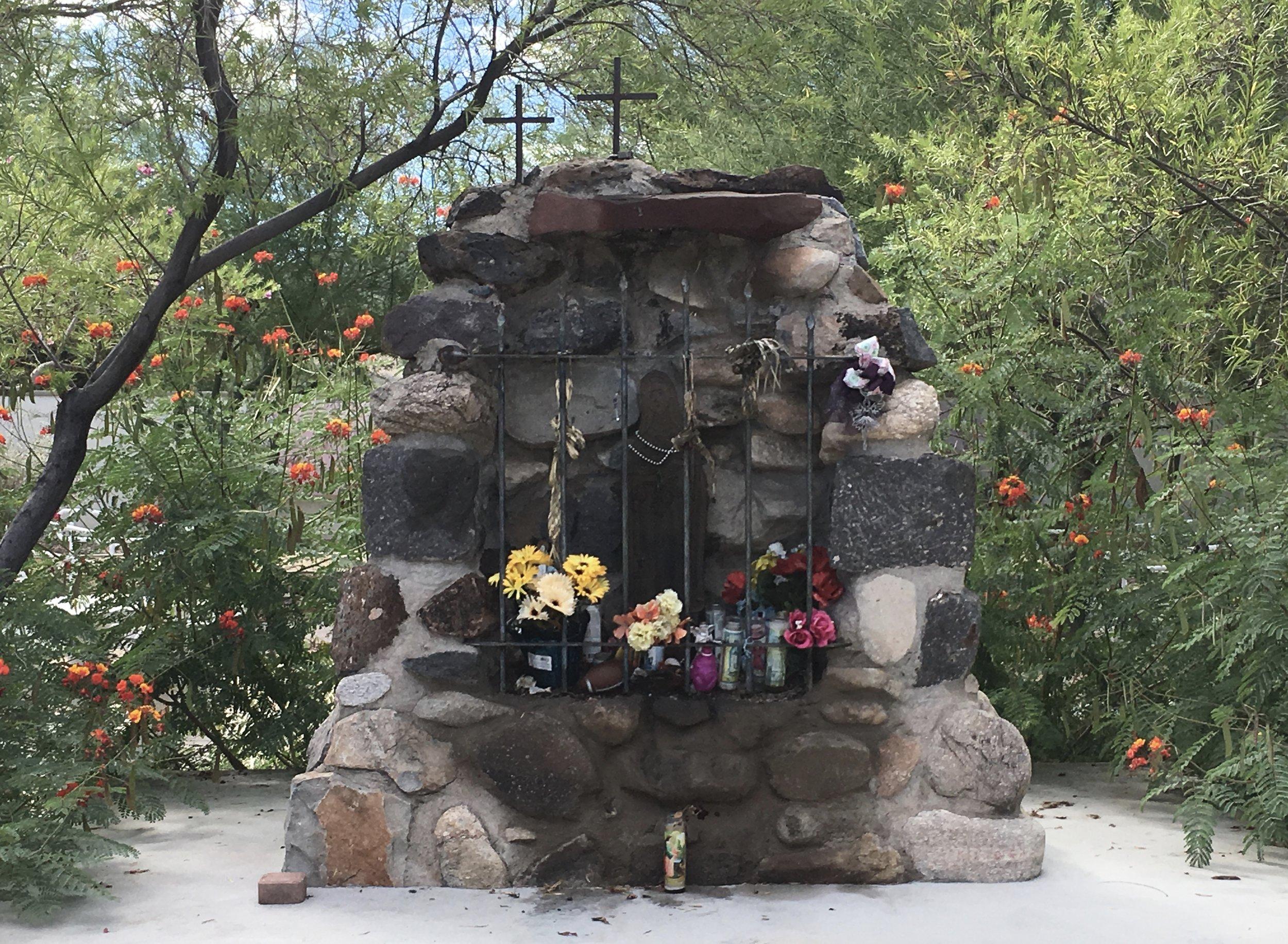 The shrine at Mendoza park