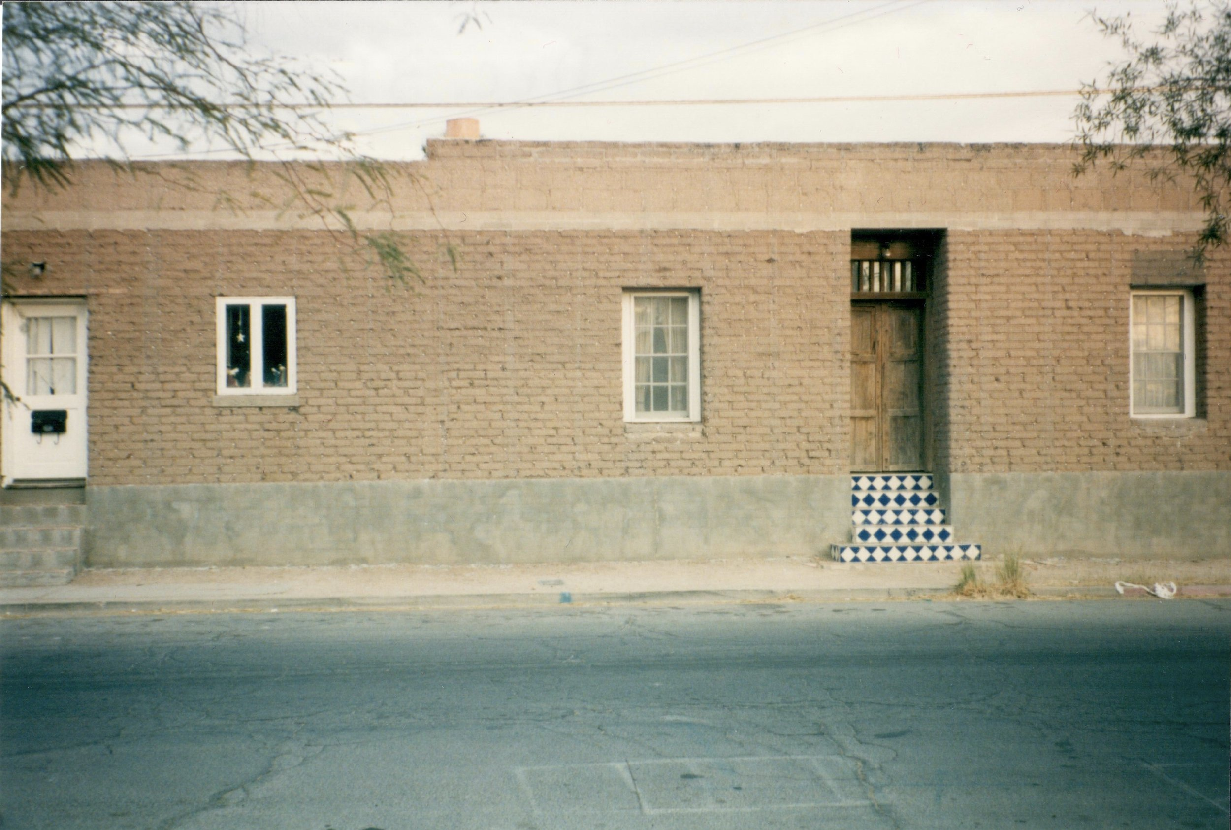 413 S. Convent, pre-plaster, on Dec. 31, 1999. This house was built in 1981.