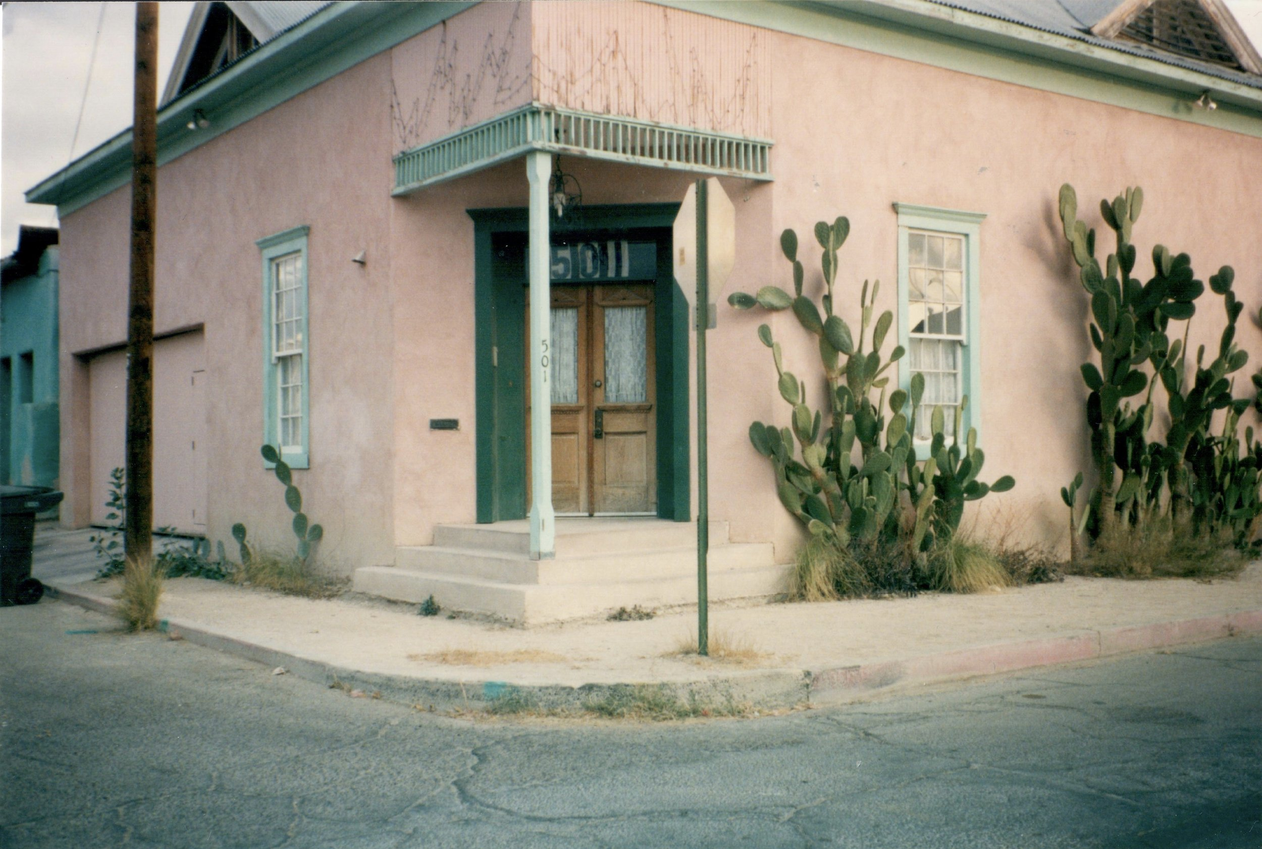 The vacant lot became 501 S. Convent by December 1999.
