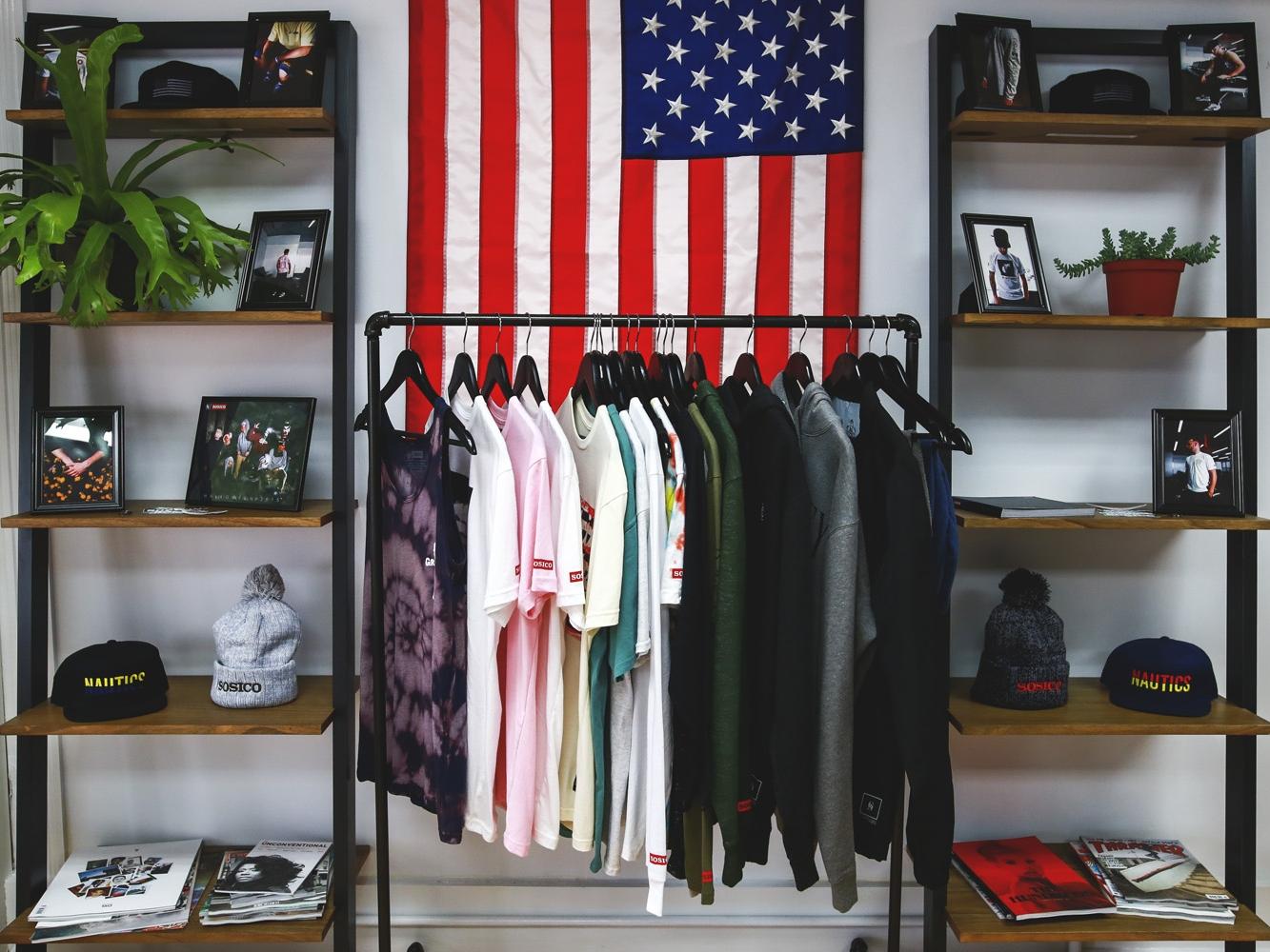 "SOSICO. ""American Greed"" Pop-Up Shop 2016"