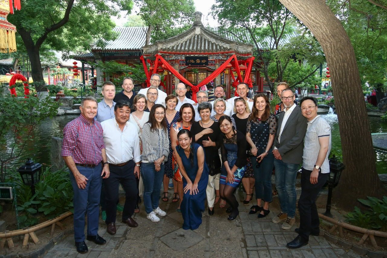 Joanne Hogue, Partner at SCPR attends the GlobalCom Annual Meeting in Beijing China May 2018