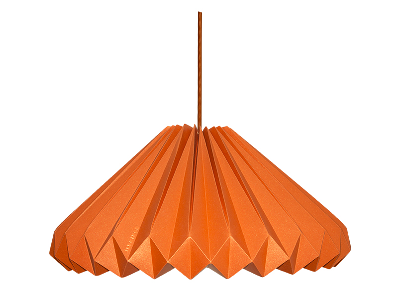 luminária-de-papel-diamante-laranja