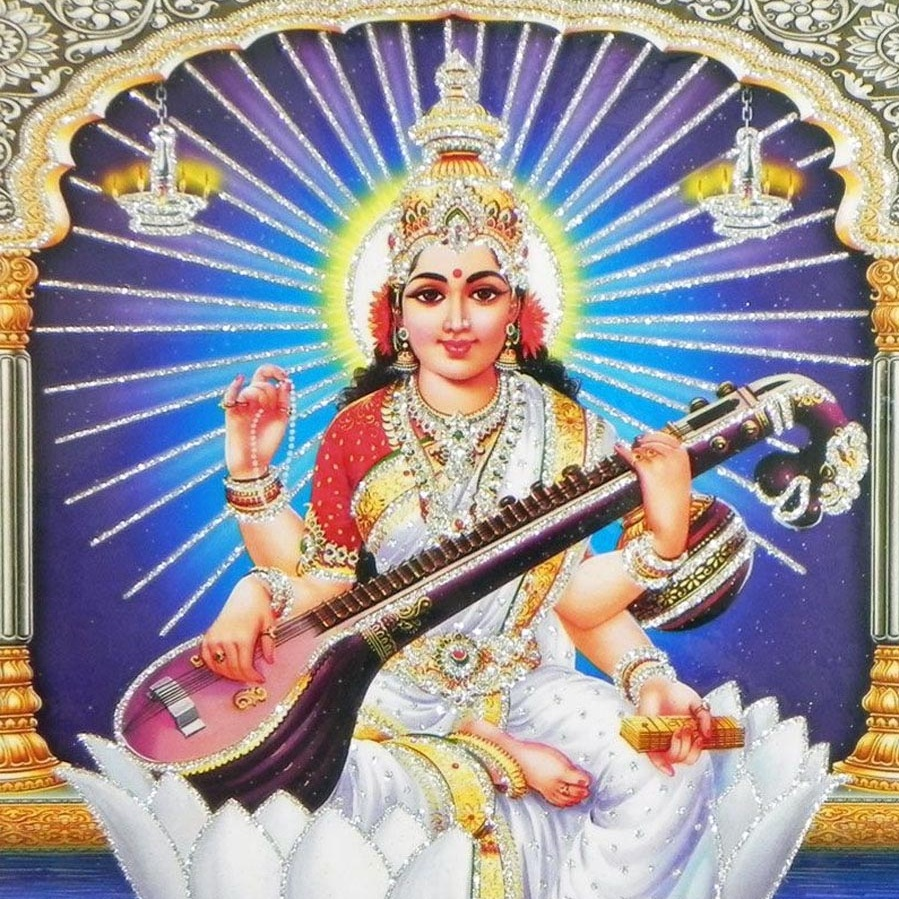 Saraswati - Find Your Voice and Flow with CreativitySaraswati draws out our inner muse, inspiring us to be creative and expressive, and to flow with our true nature.Monthly Lessons:Philosophy Foundation: Who Is Saraswati? Vac and the power of speech. Teaching with a theme. Creative Expression. Becoming fluent.Asana Foundation: Inversions and ReviewAnatomy Foundation: Pelvis and CorePranayama and Meditation Practice: Restoratives and Review. Study of Aum (OM).