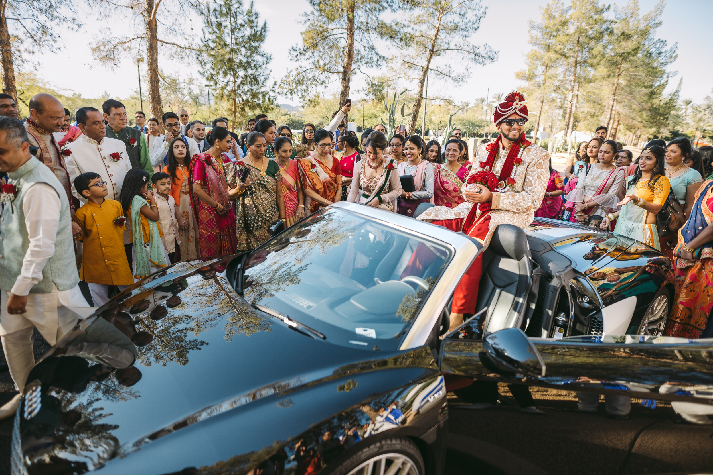 Baraat Indian Wedding