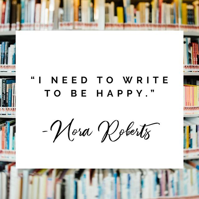 The only and only Nora Roberts—she's one of my favorite authors. She's consistent, productive, and writes some truly beautiful characters. 📘💕 . . #writersofinstagram #writersofig #amediting #amwriting #amwritingromance #authorlife #indieauthors #nanowrimo #ilovewriting #writerscorner #writersofinsta #amreading #amreadingromance #shelfie #bookcoverdesign #bookcover #bookcoverart #authorpreneur #spiritualbusiness #businesscoachforwomen #entrepreneurmindset #authorbranding #authormarketing #lightworkers #personaldevelopment #positivity #noraroberts #romancenovelist