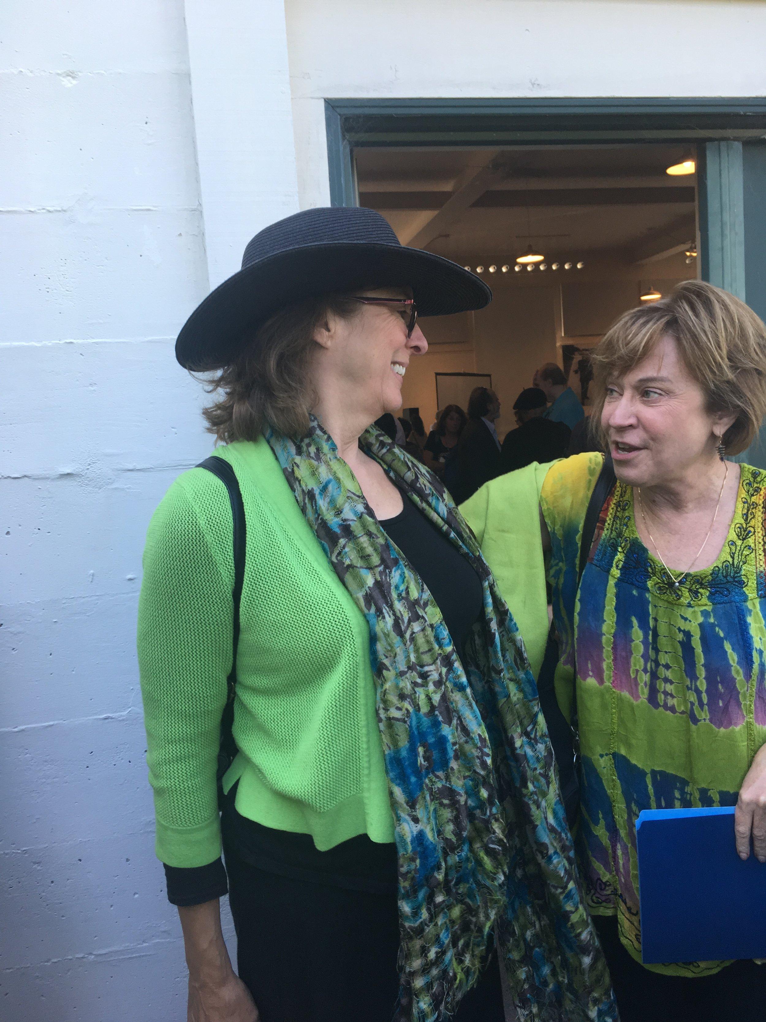 Carol and Gillian