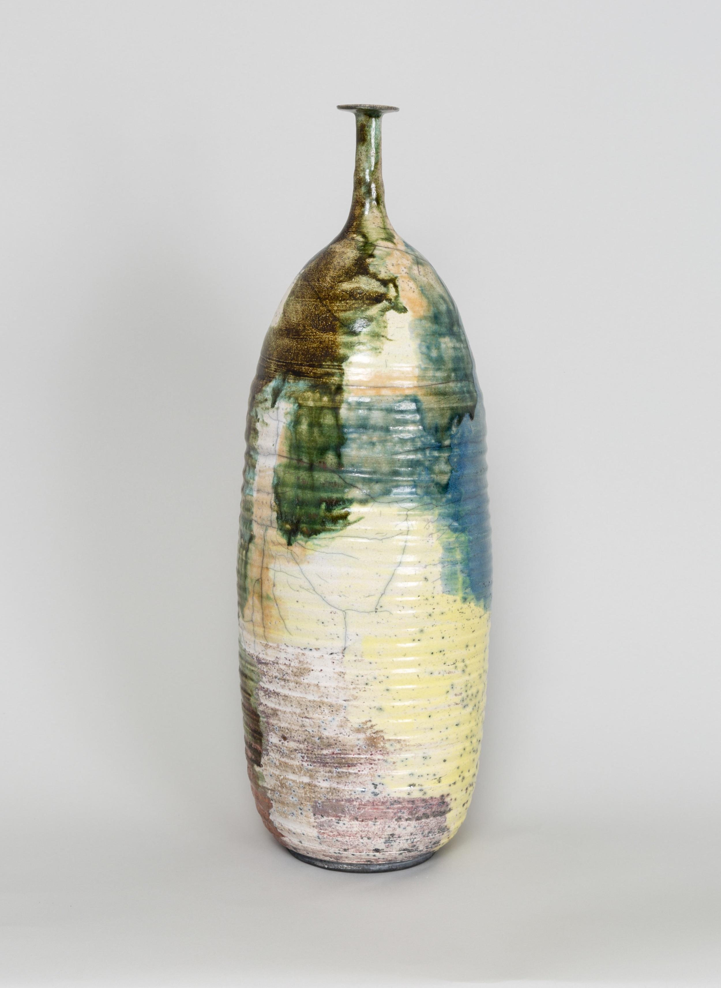 Untitled (18) , 2018 ceramic 18-1/4 in