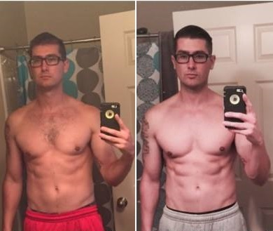 """""""I went from 180lbs at the start to 189lbs today. My back got a lot bigger and I have noticed a decrease in lower back injuries that have plagued me in the past. My ShiftFit Decathlon score went up tremendously due to my legs and core getting stronger. I'm going to tell all of my football friends about this program. It was awesome!"""" -  Garrett Palmer"""