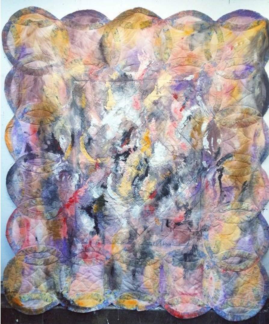 Understanding The Grid    Acrylic, quilt