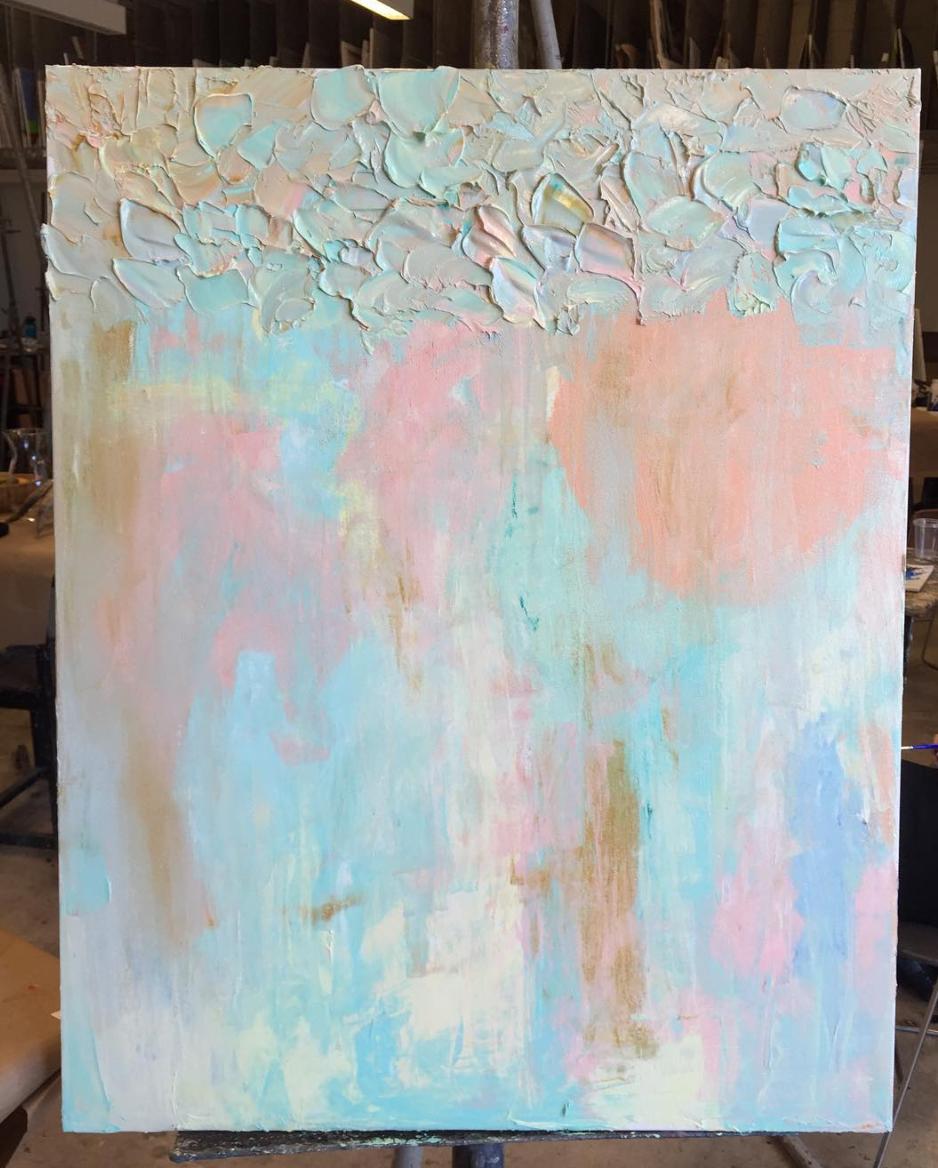 Erasure of Body   oil on canvas