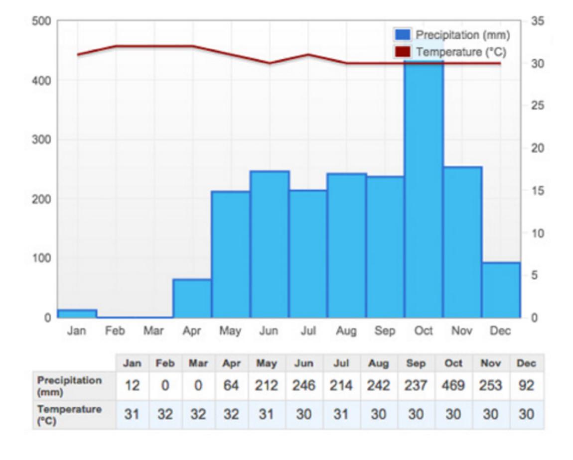 Average weather panama island