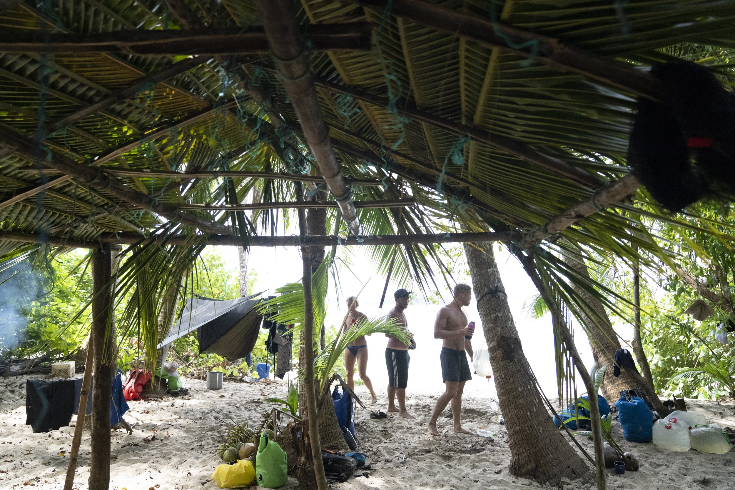 tropical island shelter